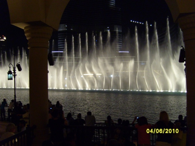 Burj Dubai - Fountains