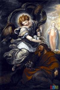 Francisco Rizi dream of St Joseph 1665