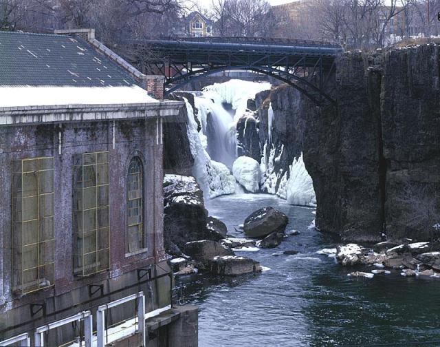 Passaic River Falls Paterson NJ