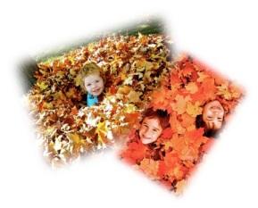 leafpile kids