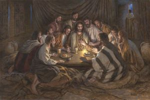 McNaughton Picture last supper